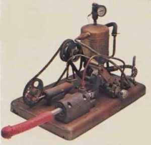 primer vibrador a vapor